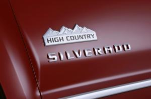 Silverado High Country Decal