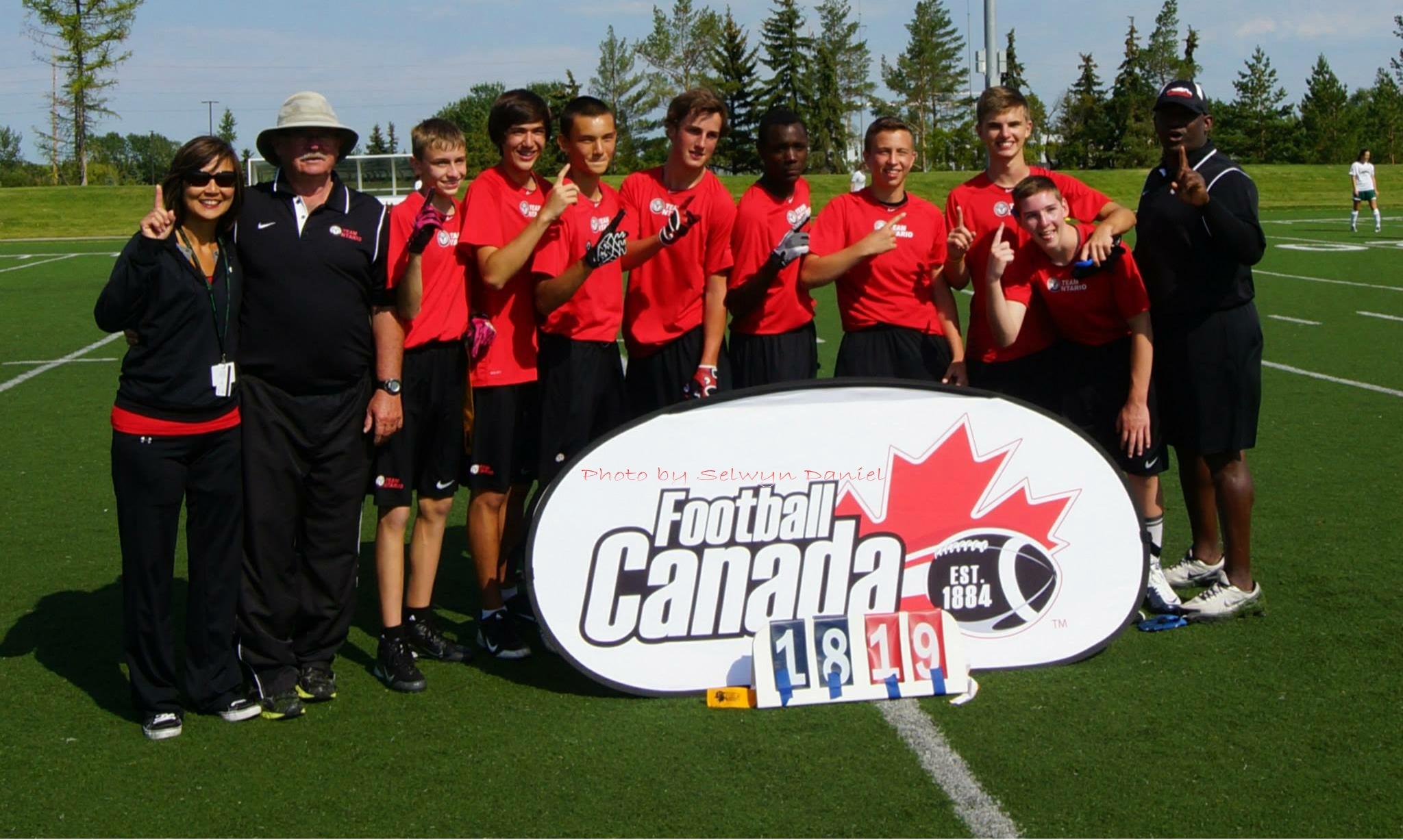 U16 Team tario – National Flag Football Champions