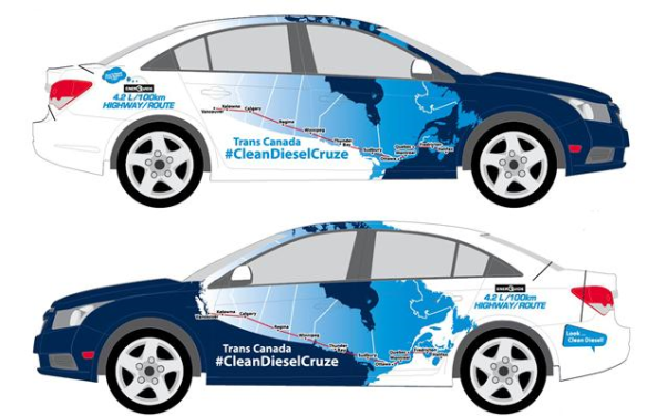 clean cruze cross canada pic